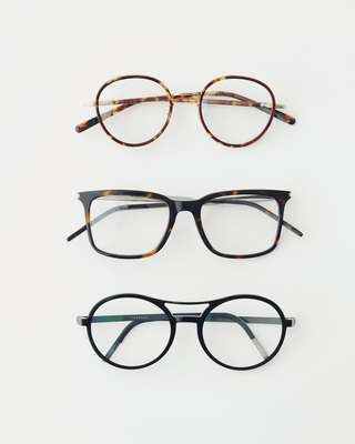 Top by Eyevan 7285, middle: Saint Laurent, bottom: Lindberg