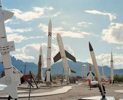 White Sands Missile Range in New Mexico