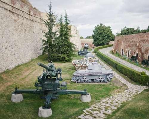 Military Museum at Belgrade's Kalemegdan fortress