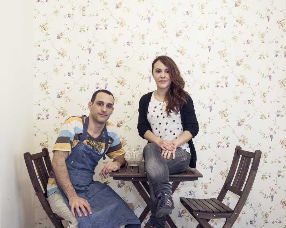 Daniel Golinelli and Silvana Cordobés, founders of Motha café