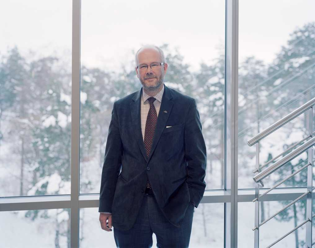 Lars Ekedahl, vice chancellor of the Väst university