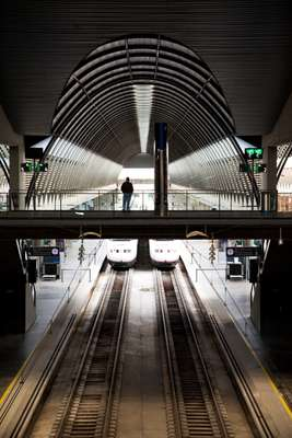 Seville's high-speed rail station