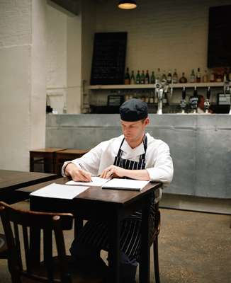 Head chef, Chris Gillard
