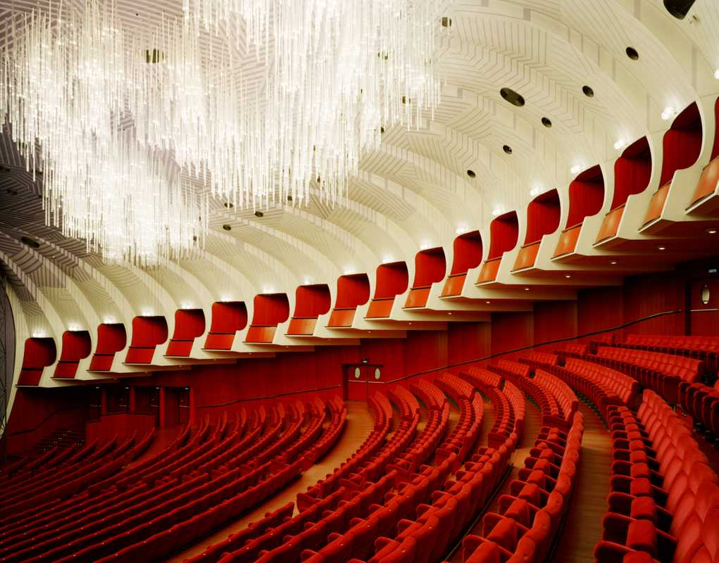 Auditorium of Teatro Regio