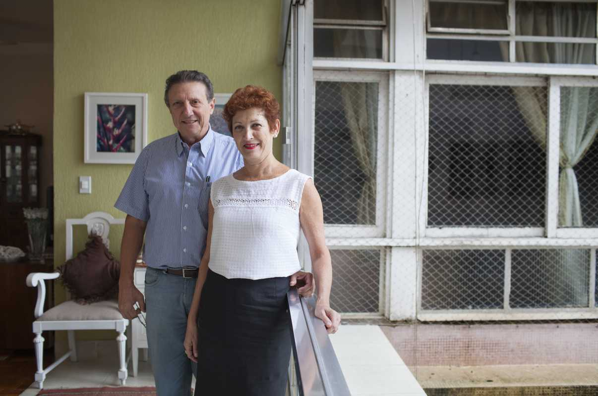 Marcos Prandi and his wife Sonia Kapulski