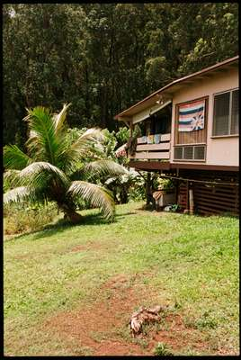 Bumpy Kanahele's home in the Koolau mountains