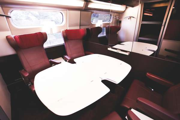 15. The Thaly's onboard meeting room