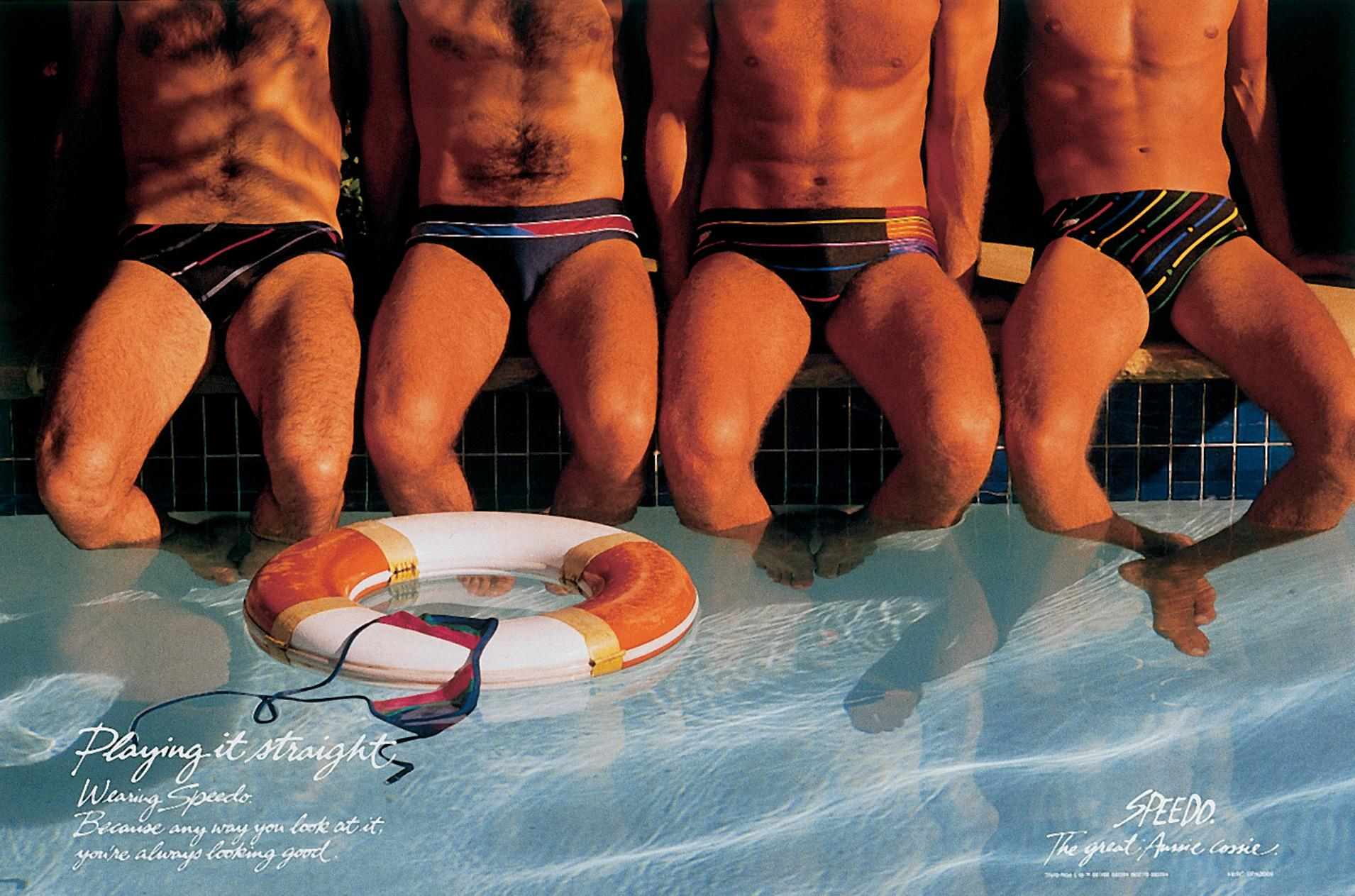 What male swimmers speedos bulge very valuable