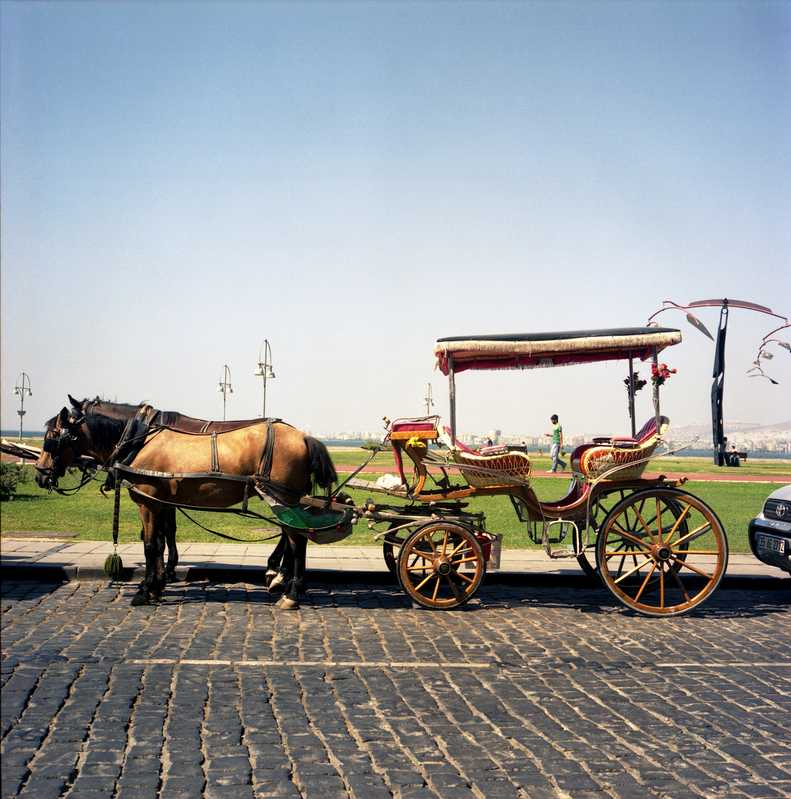 Horse-drawn carriage, Izmir