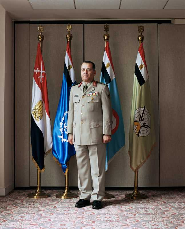 Mohammed Elkeshky. Egyptian defense attache