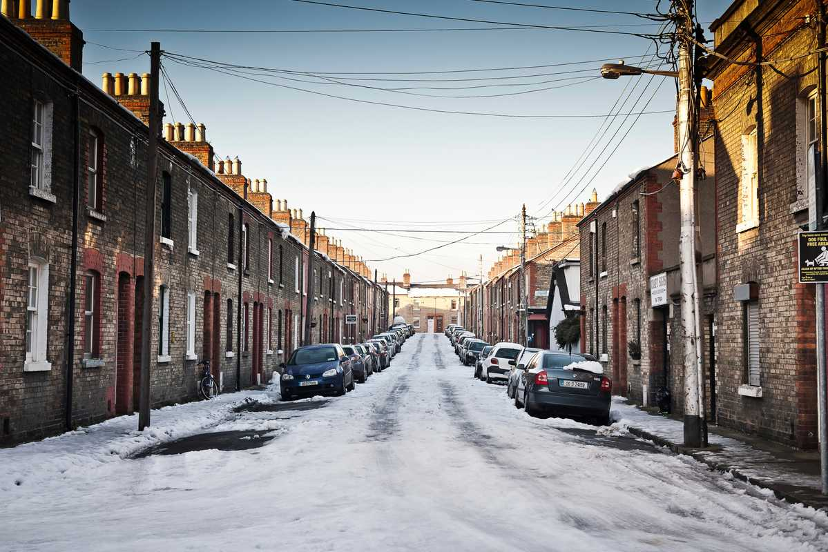 Viking Street in Stoneybatter,