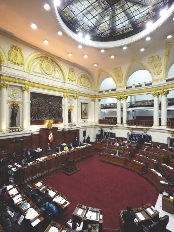 Peru's Congress, Legislative Palace