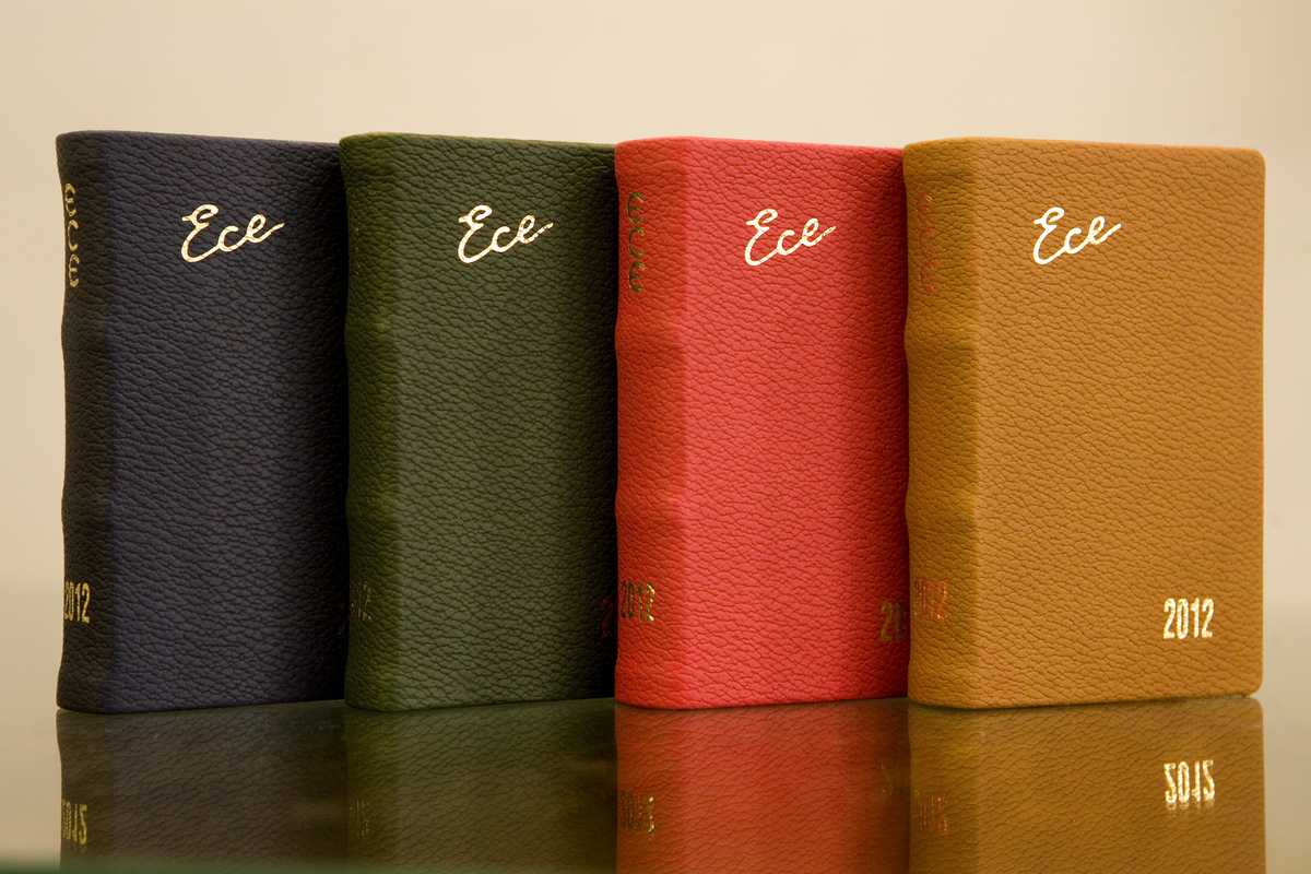 A range of 2012 Ece notebooks