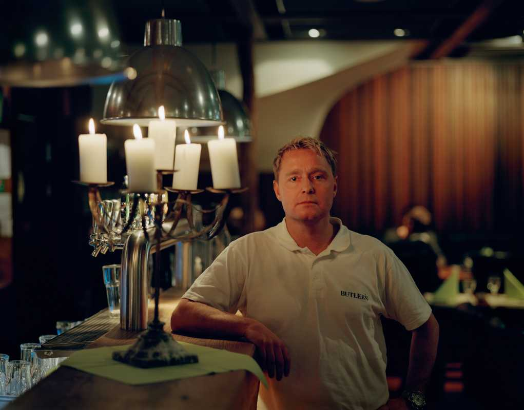 Magnus Larsson, manager and co-owner of Butler's restaurant