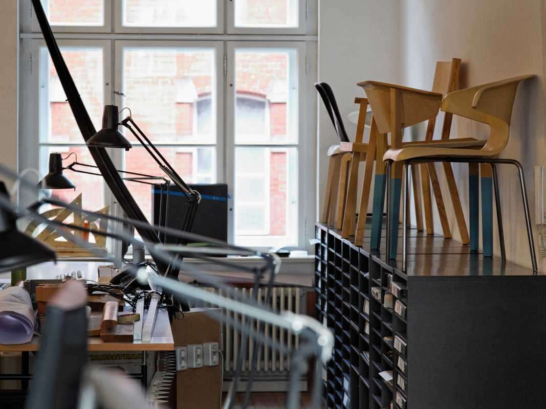 Prototypes of the Munich chair