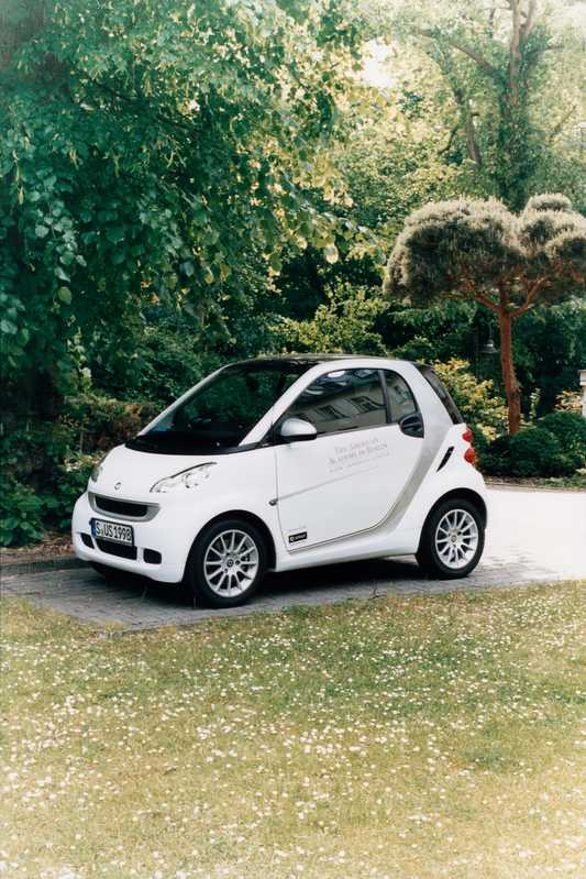 The American Academy's own Smart car