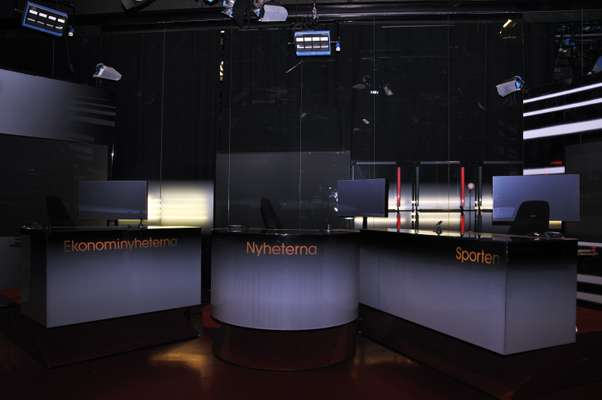 TV4's news studio