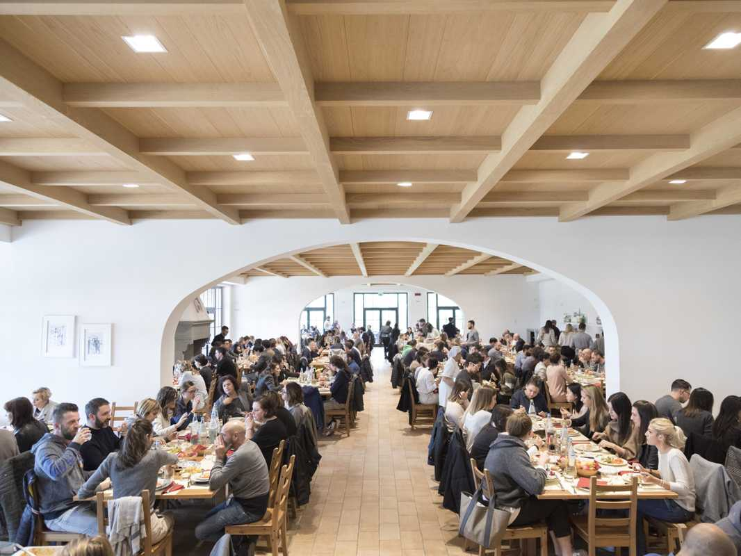Cucinelli's canteen