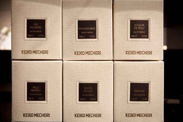 Keiko Mecheri packaging