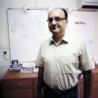 Sandip Shah, vice president and country director of SN Power