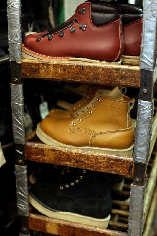 Viberg leather boots made for a Japanese order