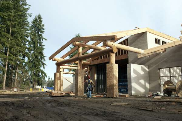 New Tulalip Museum under construction