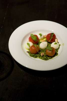 New take on the insalata caprese