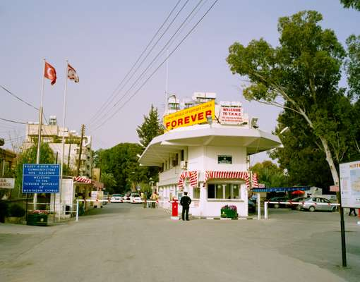Border crossing between Northern and Southern Cyprus