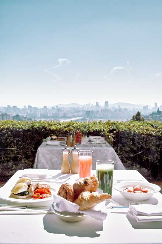 10. Breakfasts at the Grand Hyatt Seoul