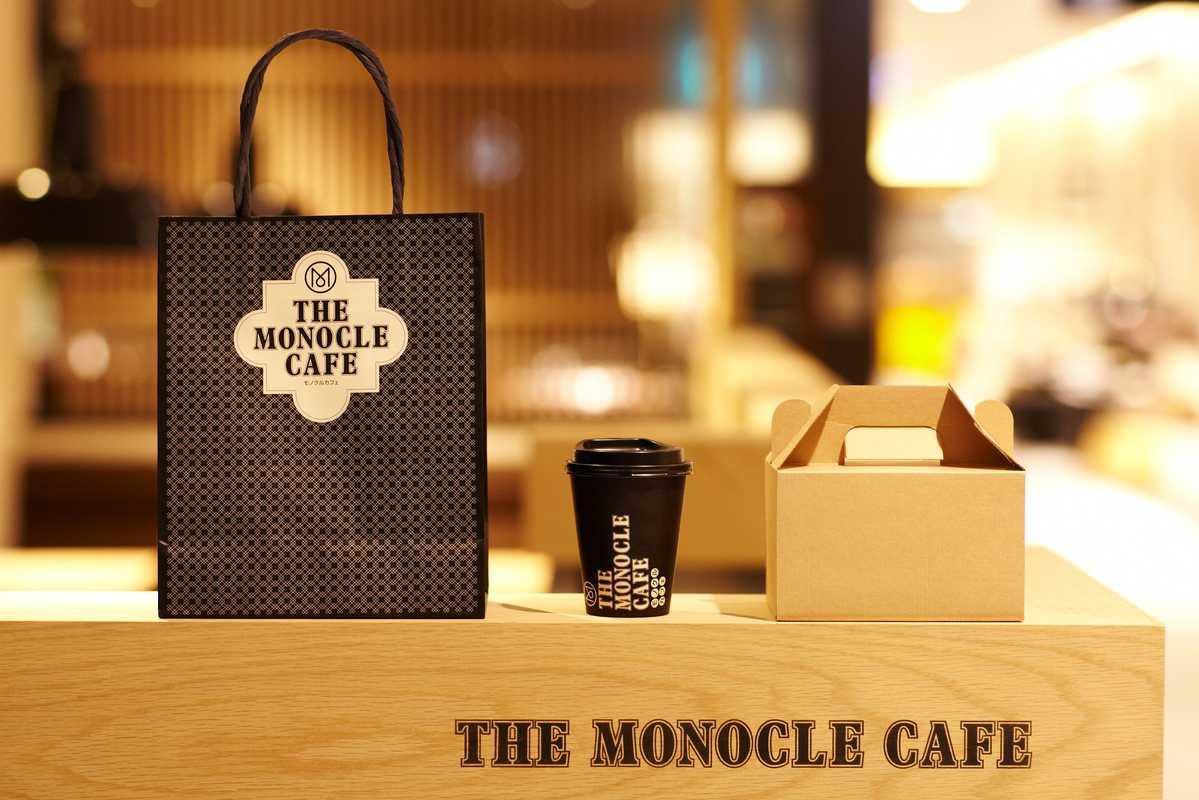 The Monocle design team was behind every single item in the café