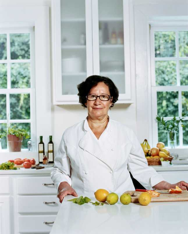 Sonia Salcedo. Chef to the Chilean ambassador