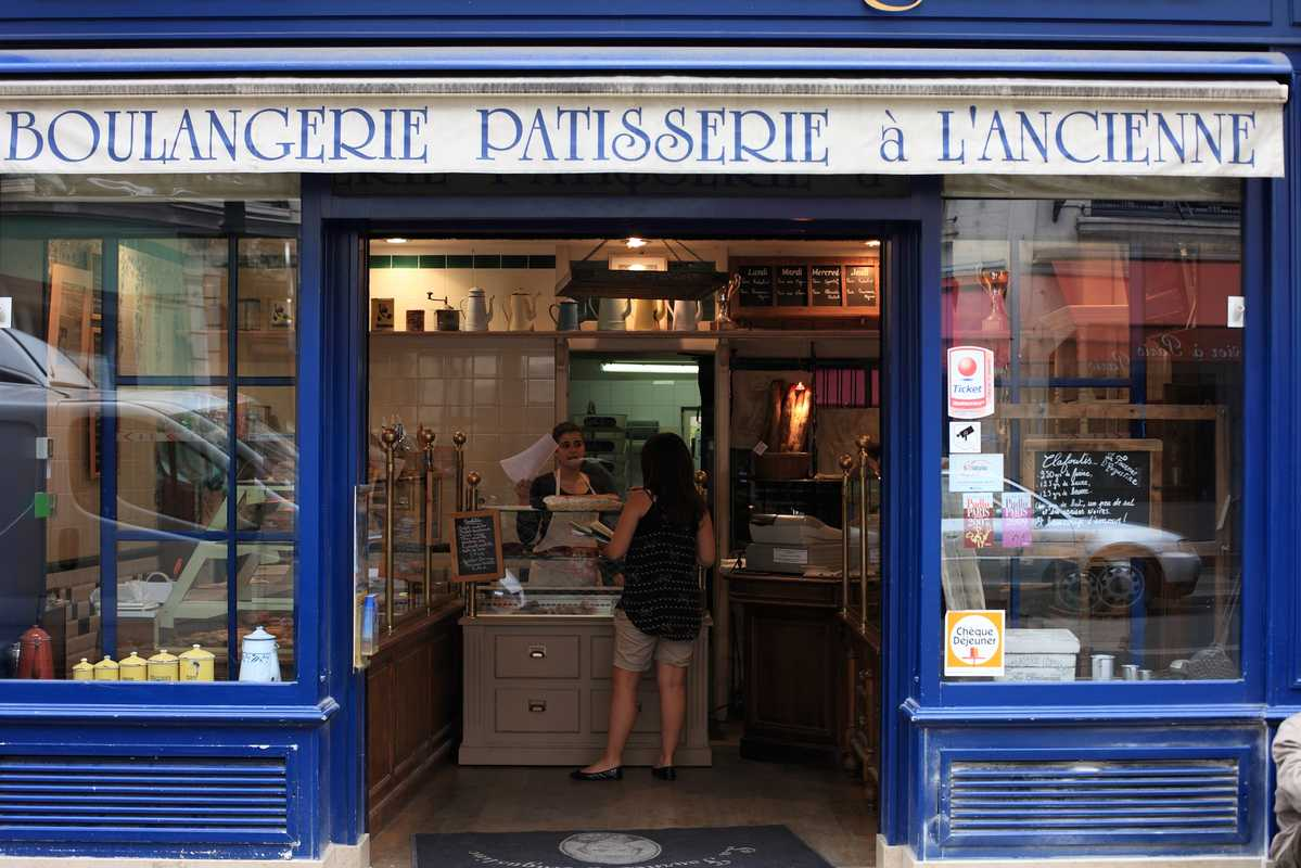 Shopfront of La Fournée d'Augustine bakery