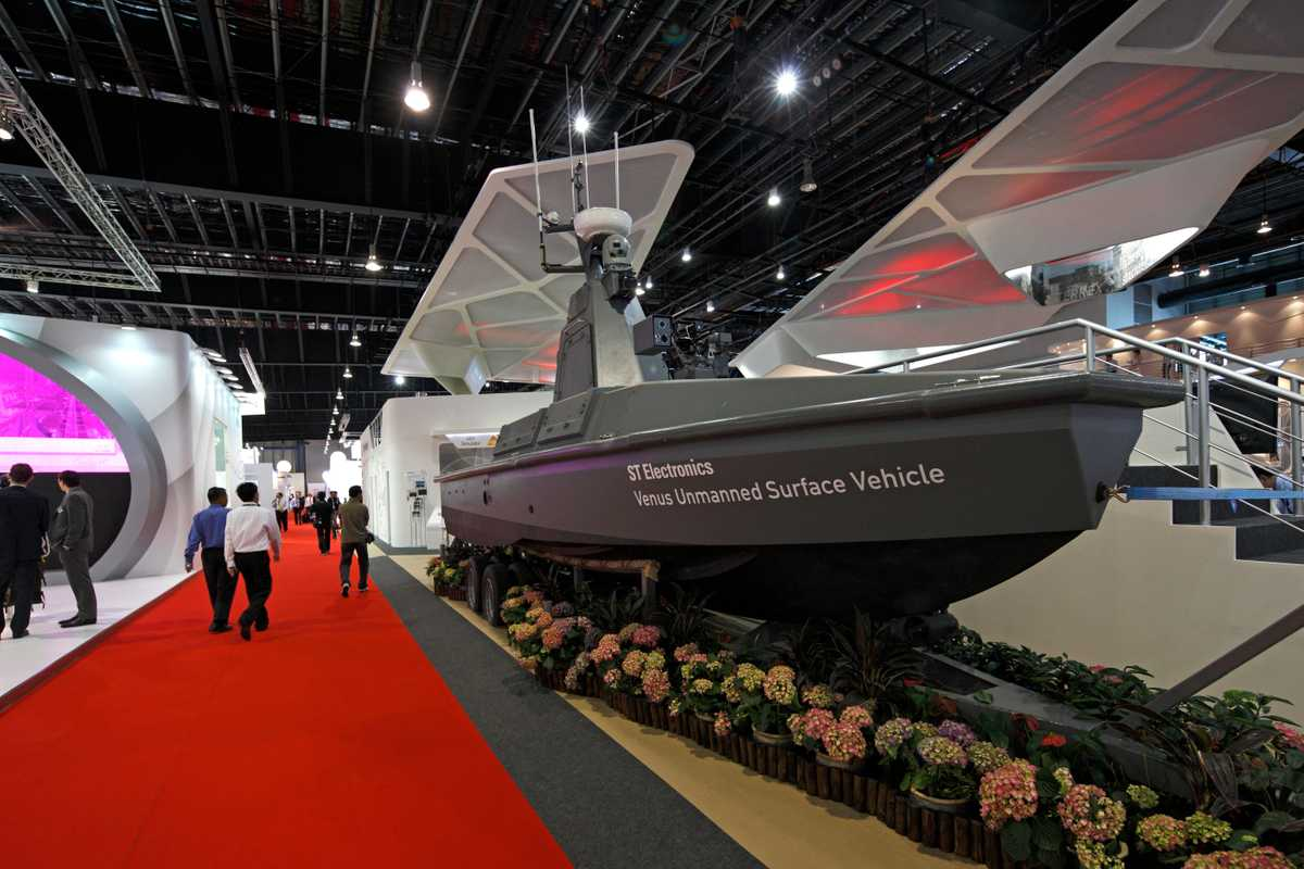 Venus USV, ST Electronics (a division of ST Engineering), Singapore