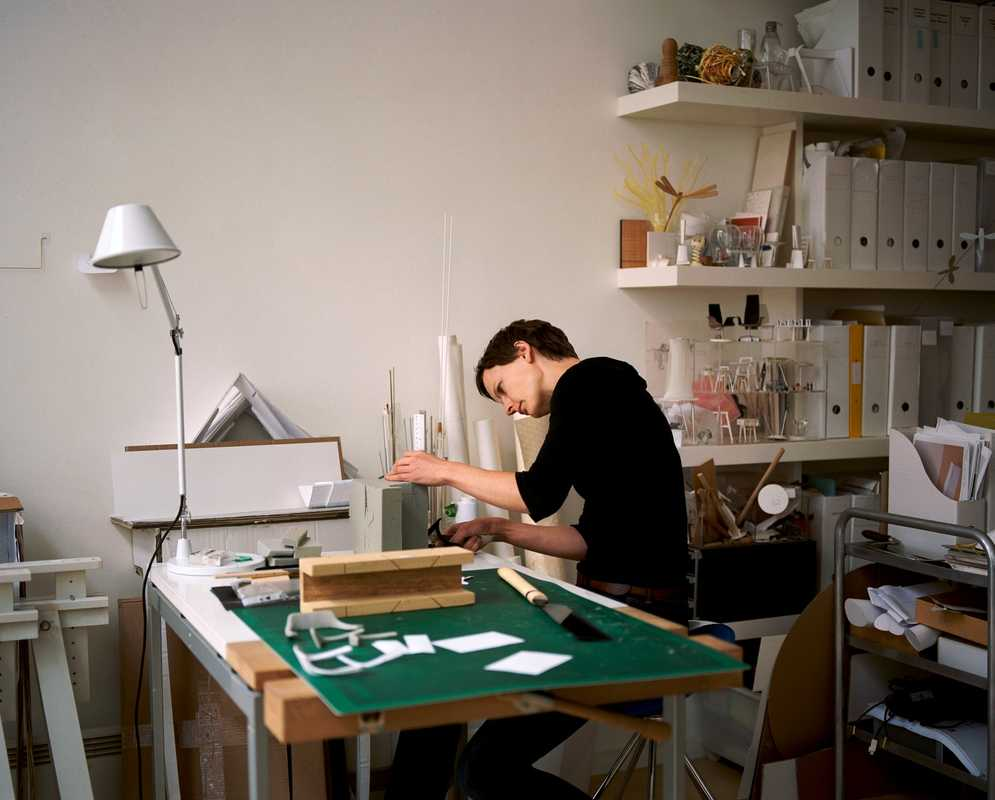Barbara Etter at work