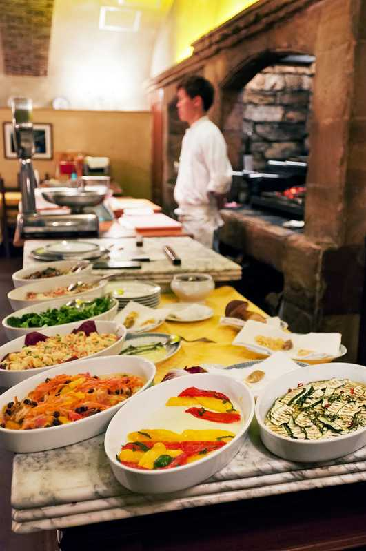 Classic Italian dishes ready to be served