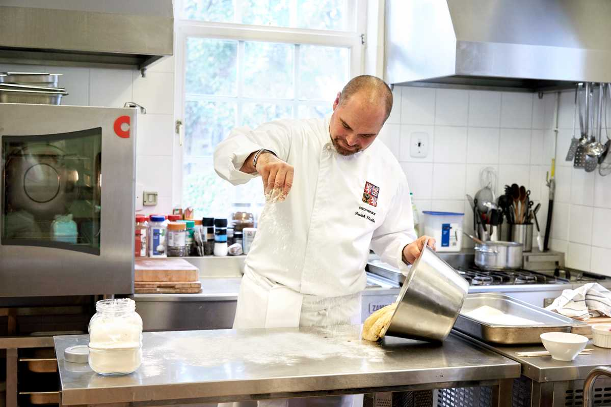 Chef Radek Kludka