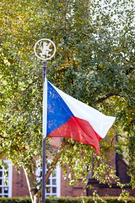 Flying the flag for the Czech Republic