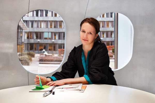 Anette Væring, designer, in The Mind