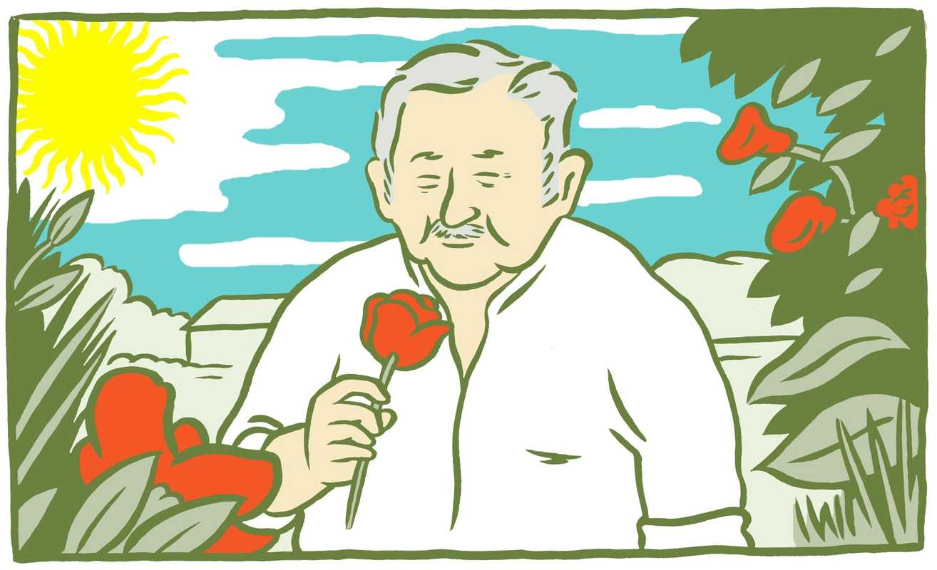 Uruguay's president Jose Mujica has inspired a perfume made by visual artist Martin Sastre