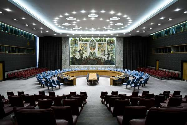 Meeting hall of the Security Council