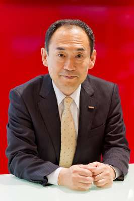 Yojiro Yamashita, general manager, life science products