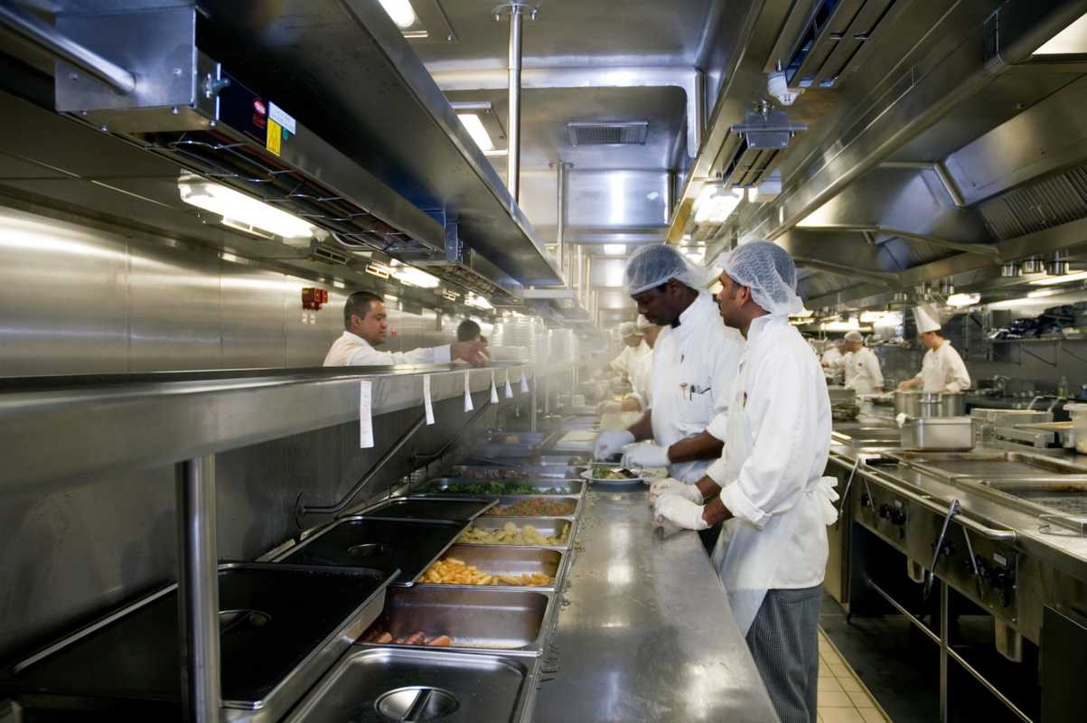 The main galley
