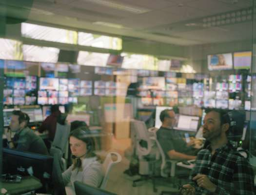 The building's only control room