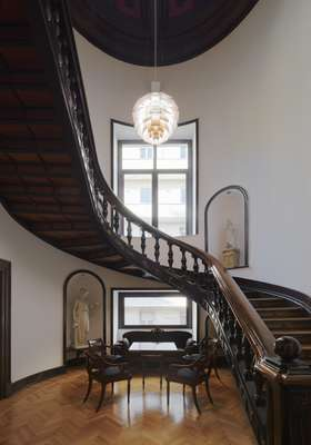 Staircase in the Danish embassy
