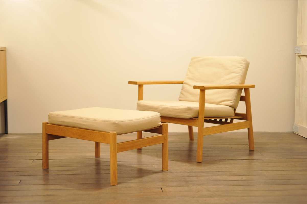 Easy chair and Otto stool