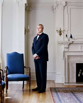 Valno Reinart. Ambassador of Estonia