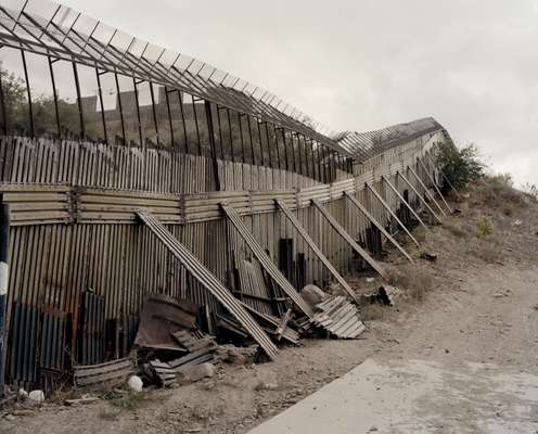The border fence (US side)