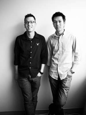 Brian and VIncent Wu, Incu