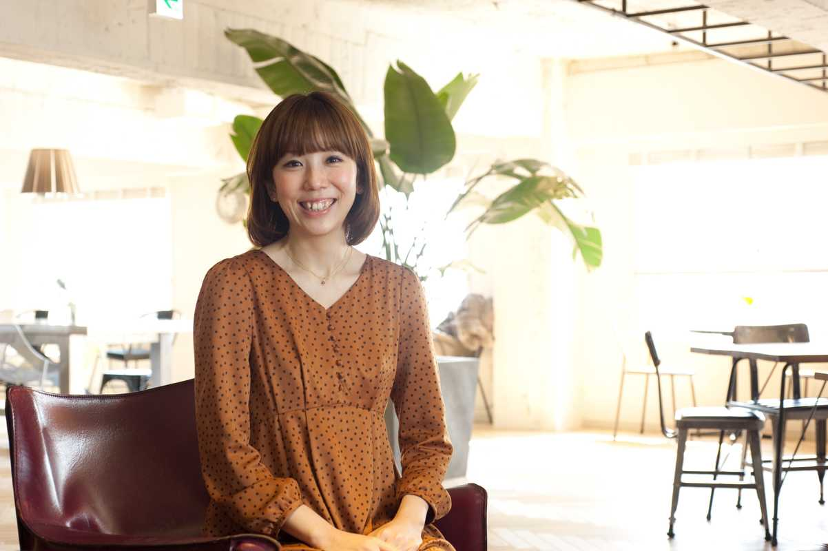 Satoko Inoue, project manager for ReBITA