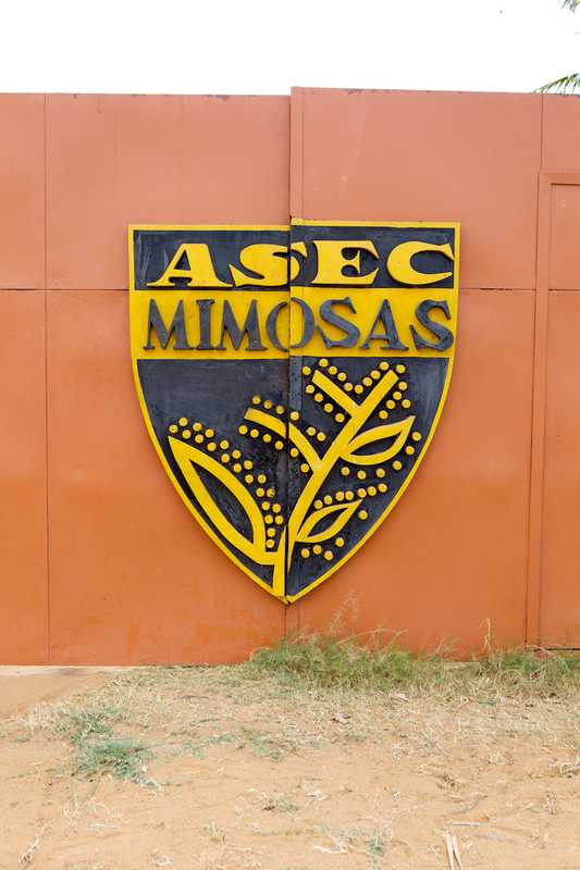 ASEC Mimosas' club badge